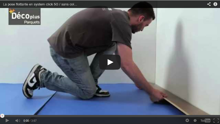 VIDEO : Floating your floor without glue