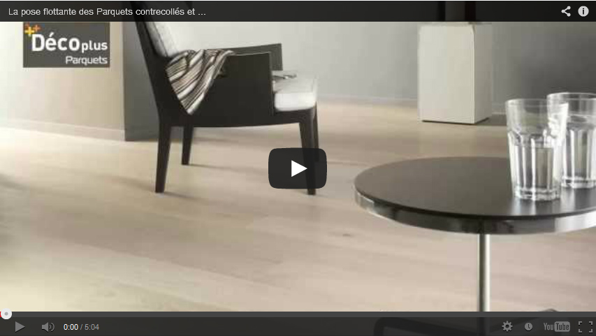VIDEO : Floating your floor by gluing grooves
