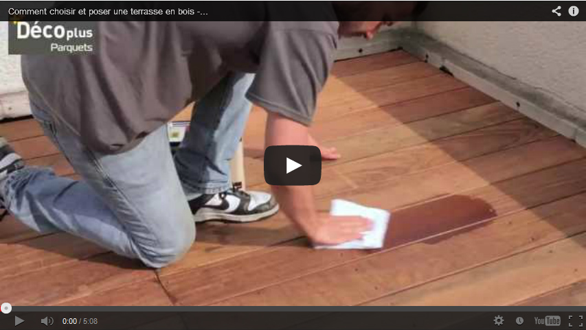Laying your decking - the basics -